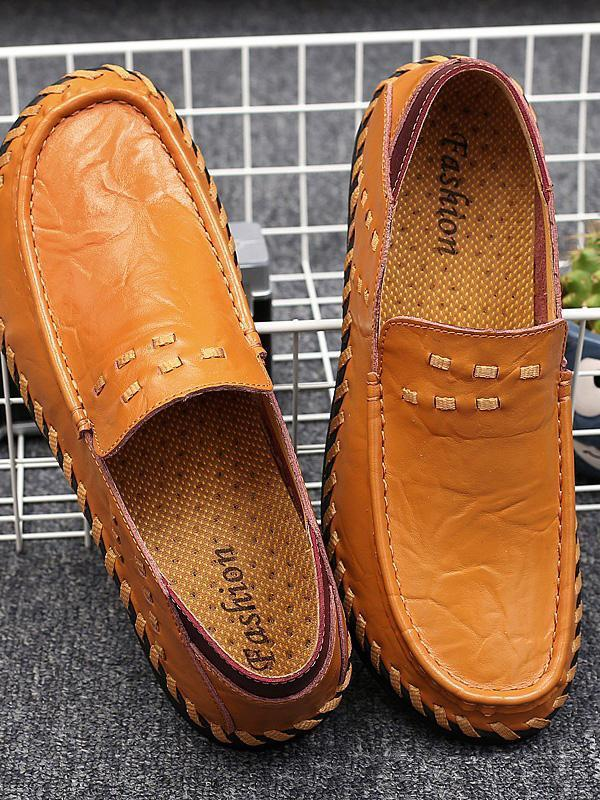 Solid Slip-on Casual Simple Shoes