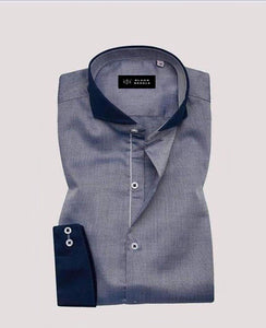 Blue shade textured Shirt