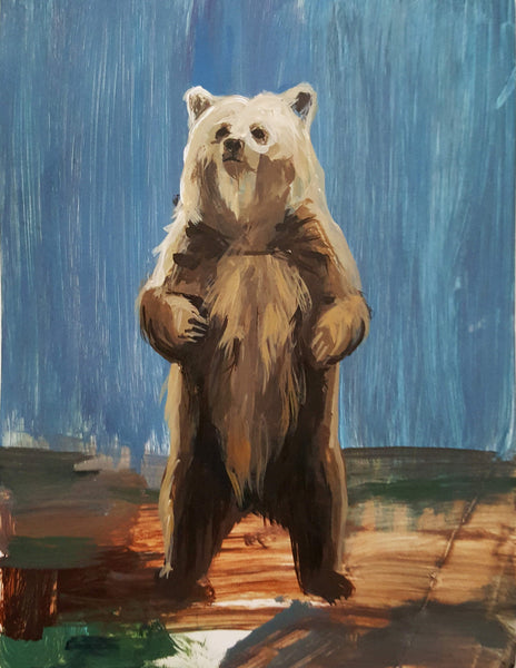 Andreea Floreanu - The Attitude of a Bear