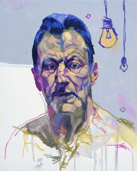 Radu Pandele - Self-portrait like Lucian Freud