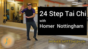 24 STEP TAI CHI WITH HOMER
