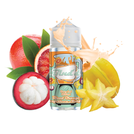 Blnd'd - Blood Orange Mangosteen Starfruit (0mg) 100ml