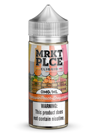 MRKT PLCE - Pine. Peach Dragonberry (6mg) 100ml