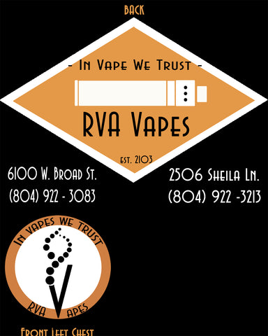 Tshirt - RVA Vapes V2 (Black)