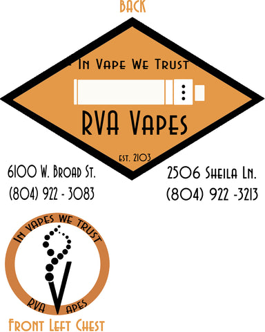 Tshirt - RVA Vapes V2 (White)