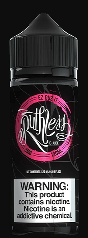 Ruthless - EZ Duz It (0mg) 120ml