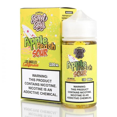 Finest - Apple Peach Sour (0mg) 100ml