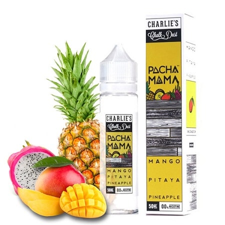 Pacha Mama - Mango Pitaya Pineapple (3mg) 60ml