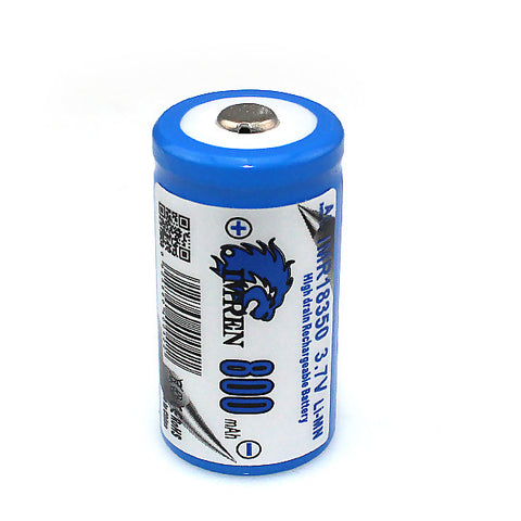Imren - 18350 Button 800mah 15A - RVA Vapes