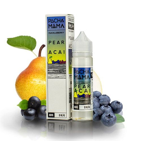 Pacha Mama - Huckleberry Pear Acai (0mg) 60ml