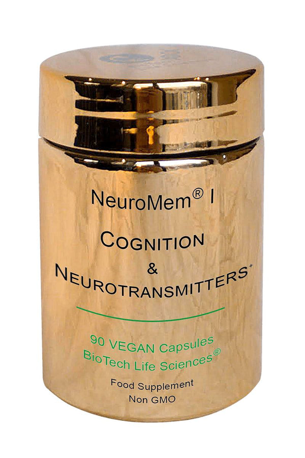 1 - Contributes to Normal Mental & Nervous System Performance, Cognitive Activity + Synthesis of some NeuroTransmitters NeuroMem BioTech Life Sciences