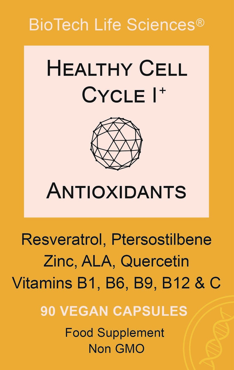 1 - Potent Anti-Oxidants To Help Fight Free Radicals & Help Protect the Body from Oxidative Stress Healthy Cell Cycle BioTech Life Sciences