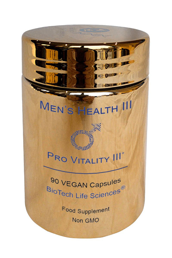 3 - Supports Normal Testosterone Levels & May Help Normal Male Sexual Function Prostate Support BioTech Life Sciences