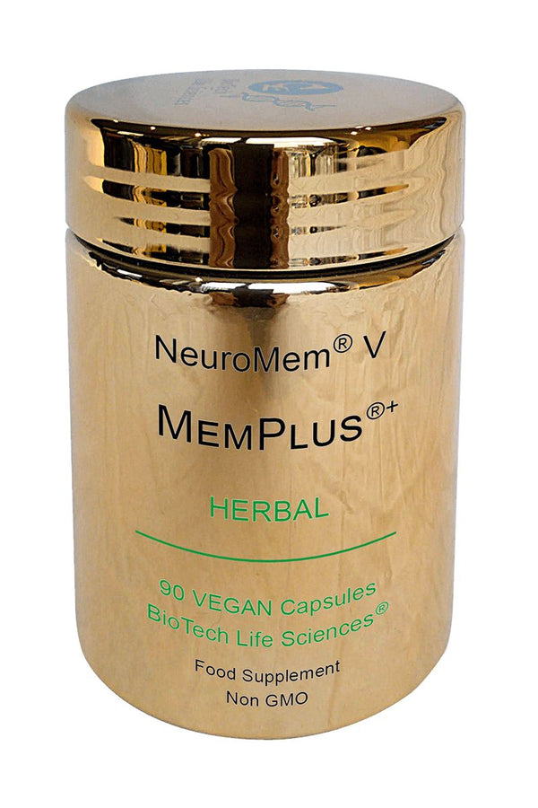 5 - Supports Normal Learning, Memory & Recall + Helps Maintain Clear Thinking NeuroMem BioTech Life Sciences