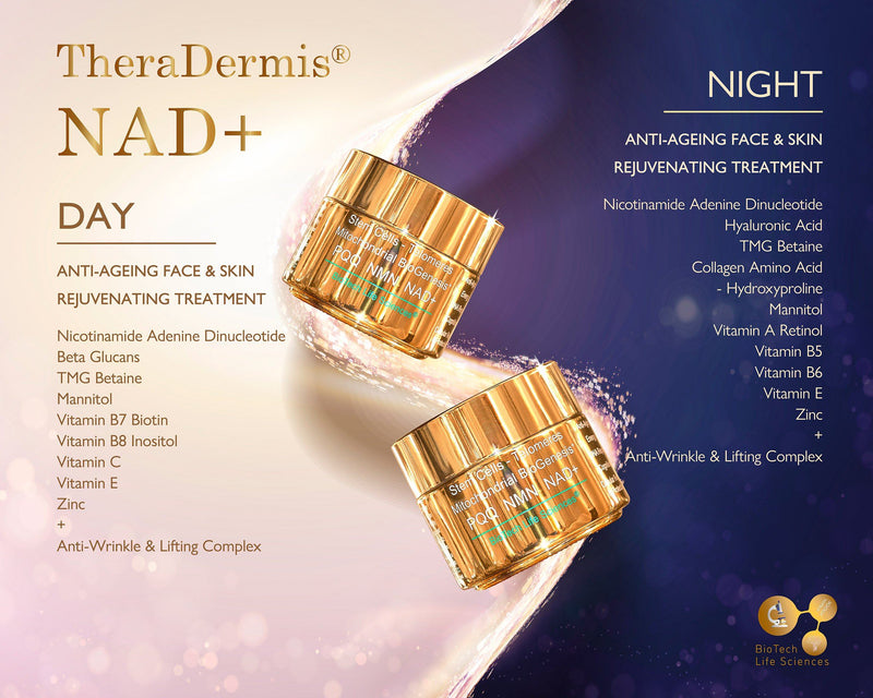 Anti-Ageing Face & Skin Rejuvenation - NAD+ (sensitive skin) Beauty BioTech Life Sciences