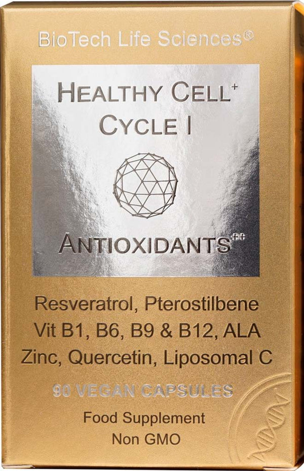 Cell 1 - Anti-Oxidants - Fight Free Radicals & Protect from Oxidative Stress Healthy Cell Cycle BioTech Life Sciences
