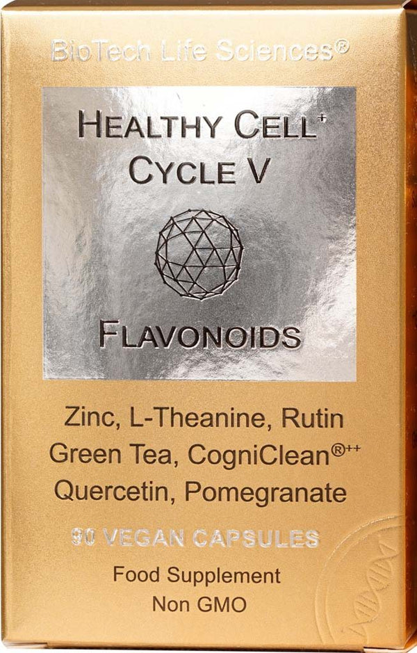 Cell 5 - Flavonoids Healthy Cell Cycle BioTech Life Sciences