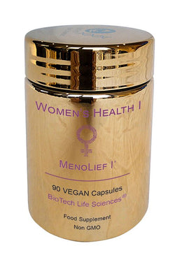 Female 1 - Peripause & Menolief 1 - Natural Phytohormones To Reduce Hot Flushes Womens Health BioTech Life Sciences