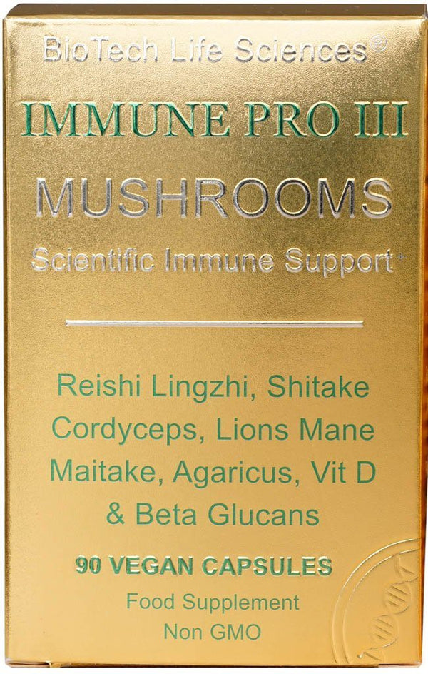 Immune 3 - Mushroom Adaptogens Immune Pro BioTech Life Sciences