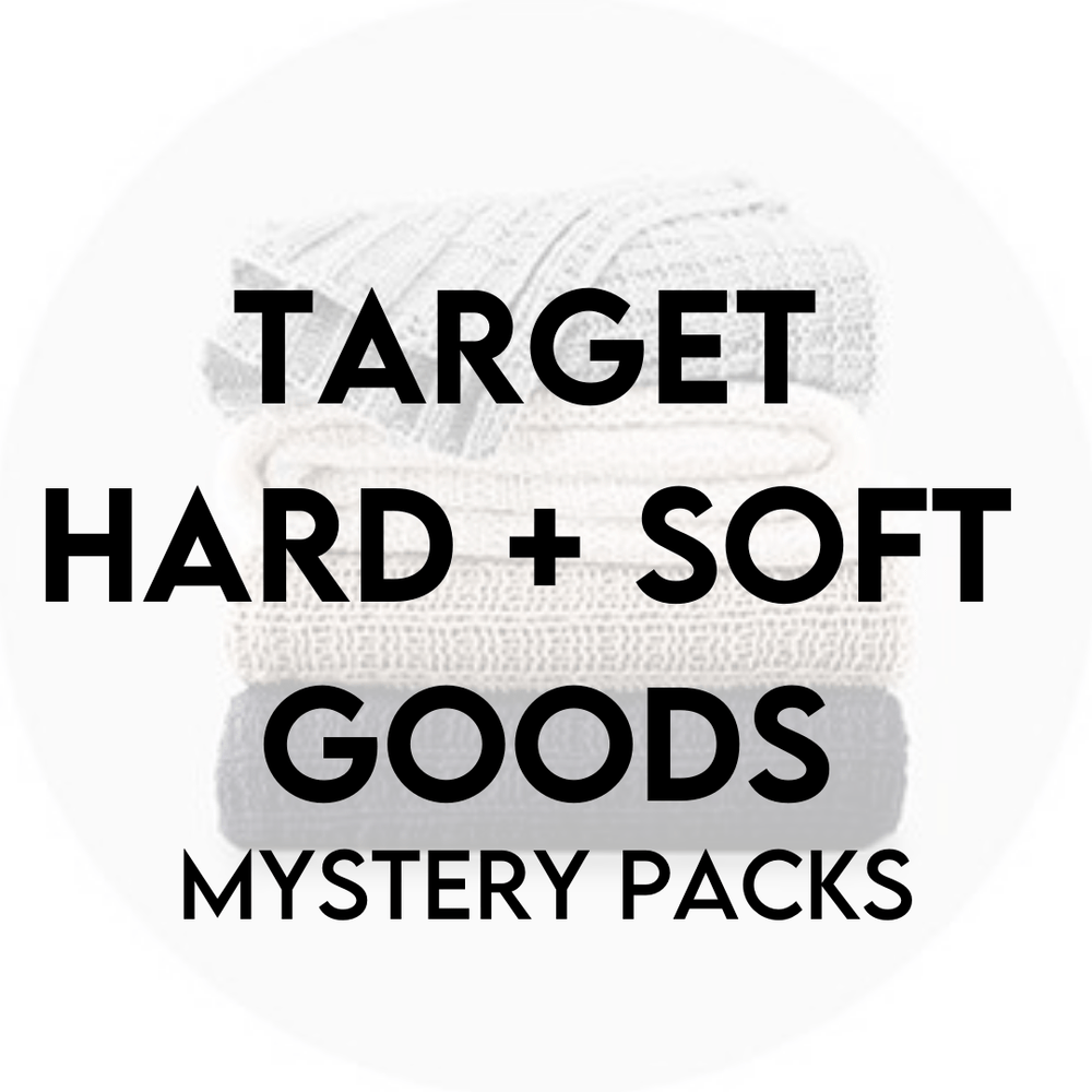 TARGET HARD + SOFT GOODS | 100 PIECE MYSTERY PACK - JOMAR WHOLESALE