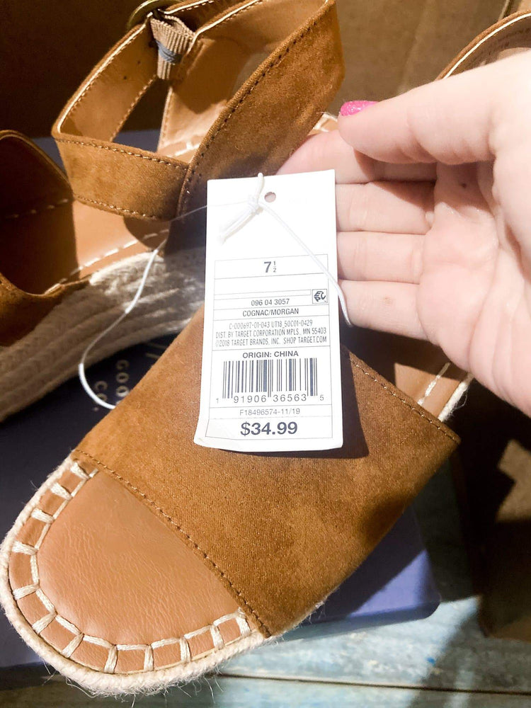 Load image into Gallery viewer, UNIVERSAL THREAD Morgan Sandal | Women's size 7.5 | NIB - JOMAR WHOLESALE