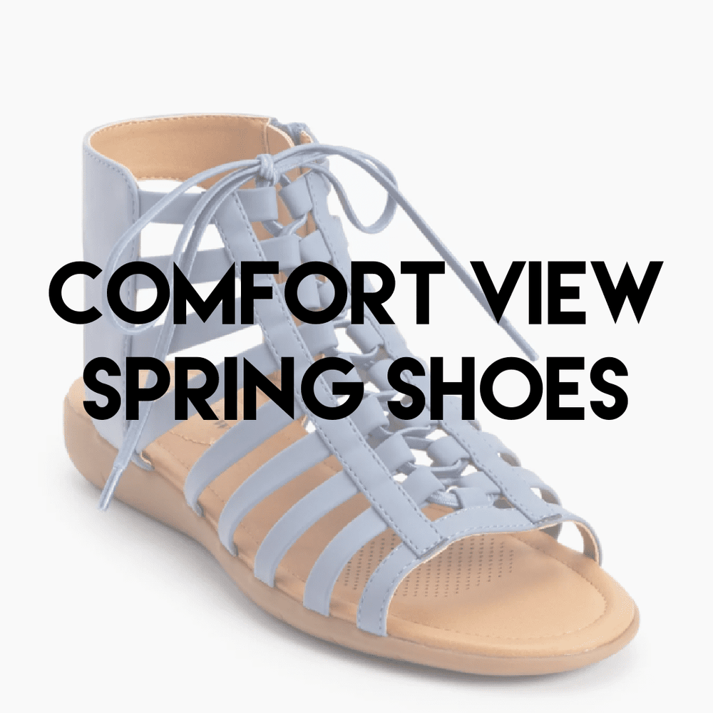 FULL BEAUTY COMFORT VIEW SPRING SHOES | Women's NEW | 12 pairs - JOMAR WHOLESALE