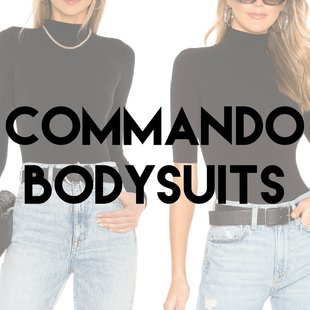 COMMANDO BODYSUITS 2 STYLES | Women's One Size NWT | 15 pieces - JOMAR WHOLESALE
