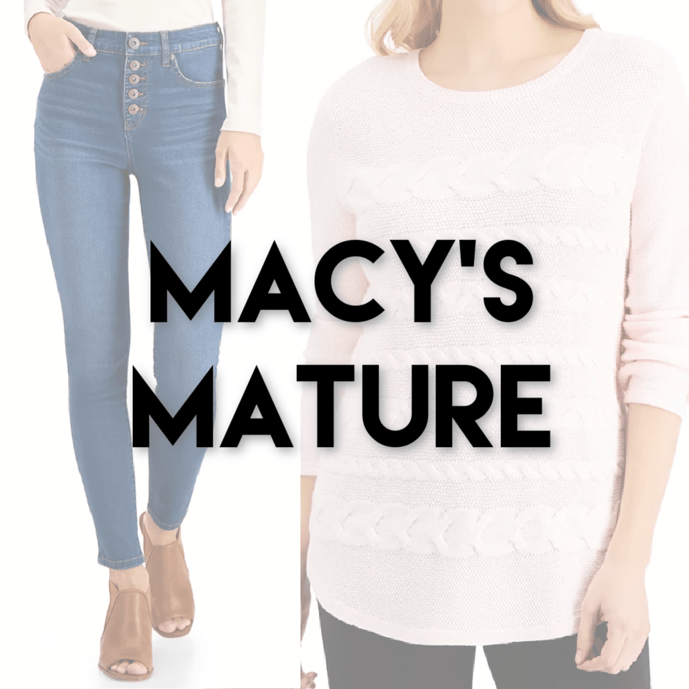 MACY'S MATURE | Women's NWT/NWOT | 30 pieces - JOMAR WHOLESALE