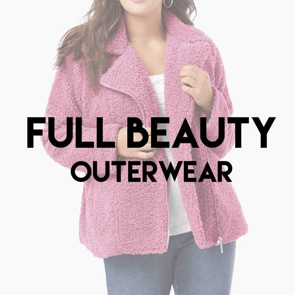 FULL BEAUTY OUTERWEAR | Ladies & Plus Size NEW | 15 pieces - JOMAR WHOLESALE