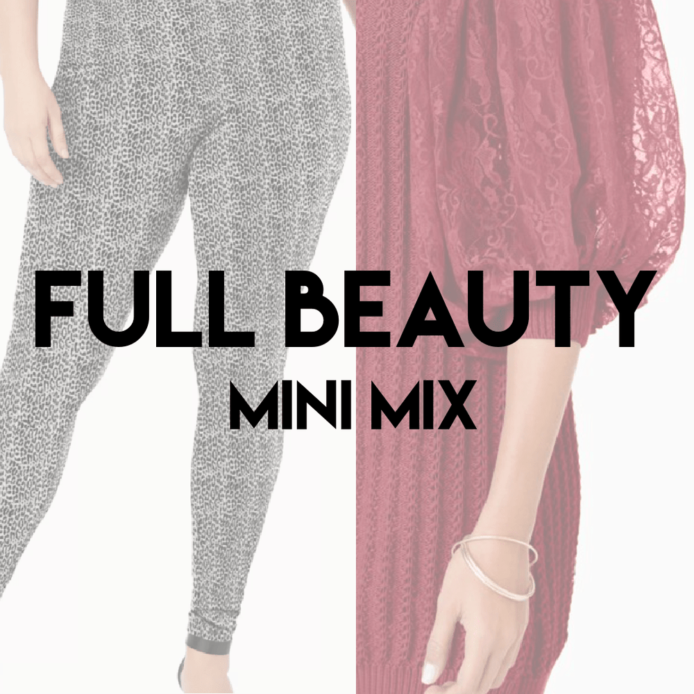 FULL BEAUTY SPRING MINI | Women's NEW Assorted | 15 pieces - JOMAR WHOLESALE