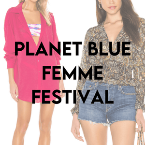Load image into Gallery viewer, PLANET BLUE | Femme Festival Women's SAMPLES | 50 pieces - JOMAR WHOLESALE