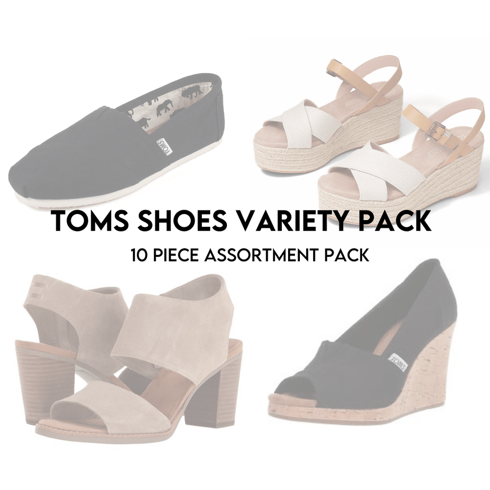 TOM'S SHOES ASSORTED | Women's NEW | 10 PIECE - JOMAR WHOLESALE