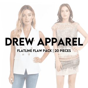 Load image into Gallery viewer, DREW APPAREL | FLATLINE FLAW 20 PIECE PACK - JOMAR WHOLESALE