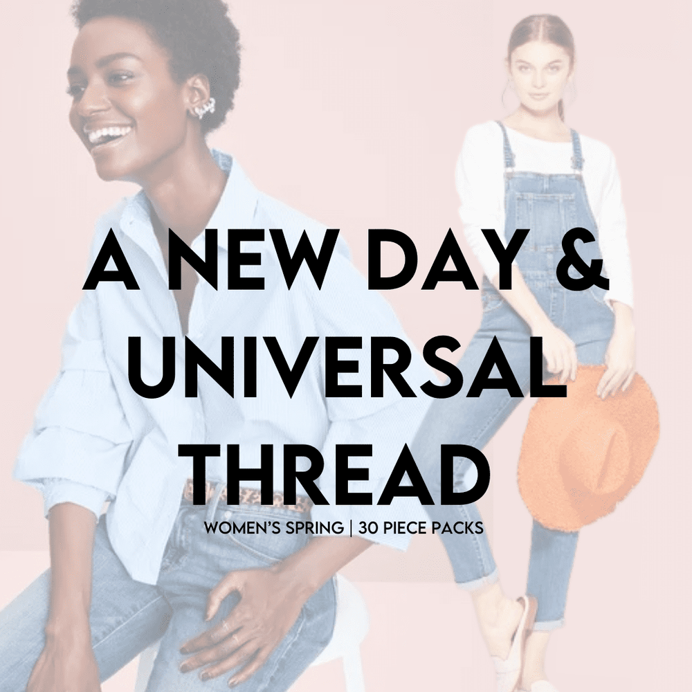 A NEW DAY & UNIVERSAL THREAD WOMEN'S SPRING | 30 PIECE PACKS - JOMAR WHOLESALE