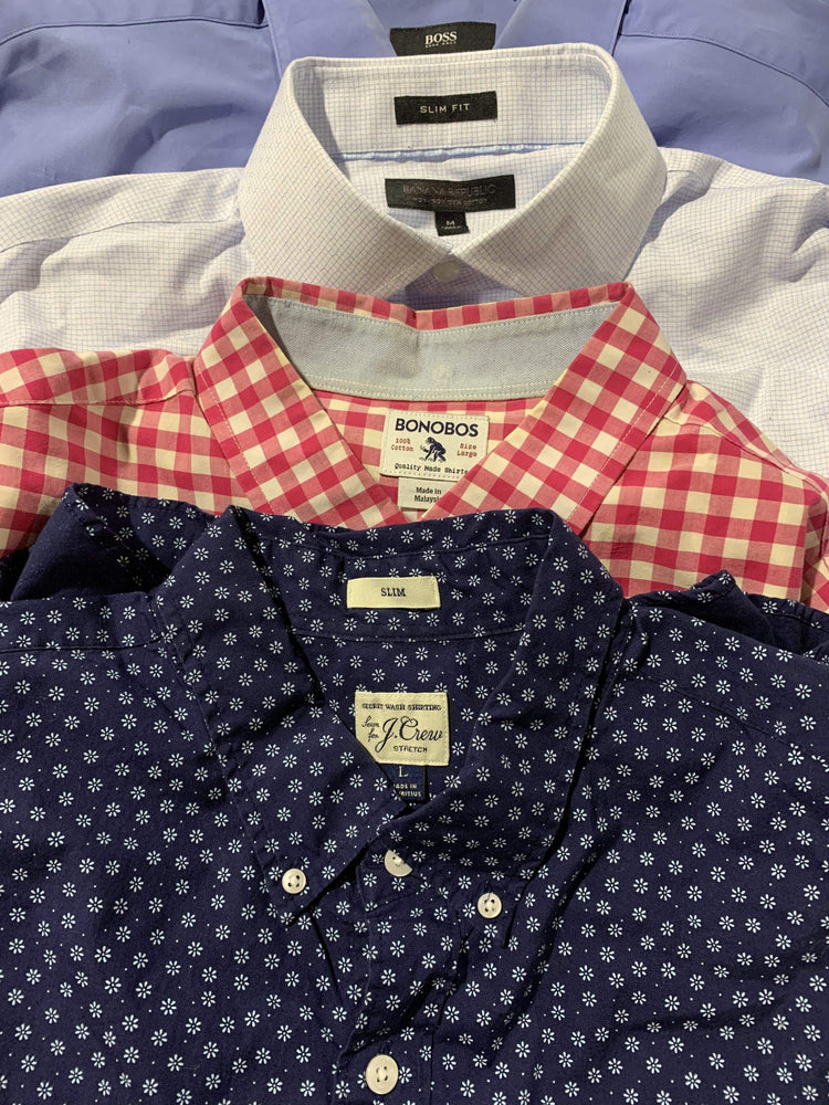 Load image into Gallery viewer, MENSWEAR Career Button Down Shirts | EUC | 50 pieces - JOMAR WHOLESALE
