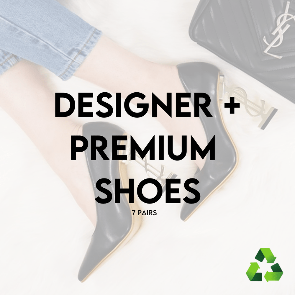 LUXURY & PREMIUM DESIGNER SHOES | 7 PAIRS | PRE-LOVED - JOMAR WHOLESALE