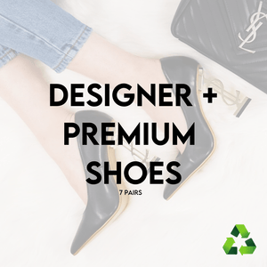 Load image into Gallery viewer, LUXURY & PREMIUM DESIGNER SHOES | 7 PAIRS | PRE-LOVED - JOMAR WHOLESALE