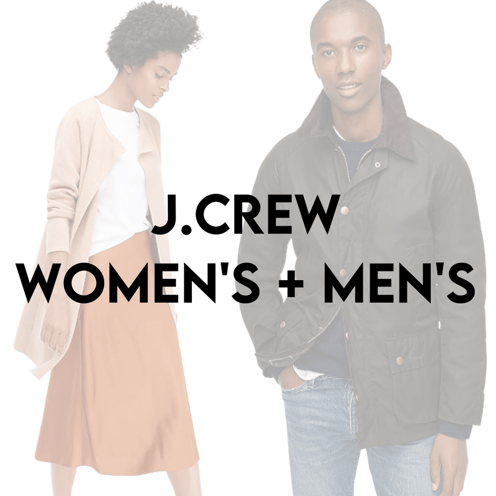J.CREW ASSORTED WOMEN'S & MEN'S | 20 PIECE PACKS - JOMAR WHOLESALE