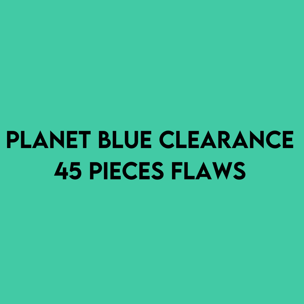 PLANET BLUE FLAWED SAMPLES CLEARANCE | 45 PIECE ASSORTMENT - JOMAR WHOLESALE