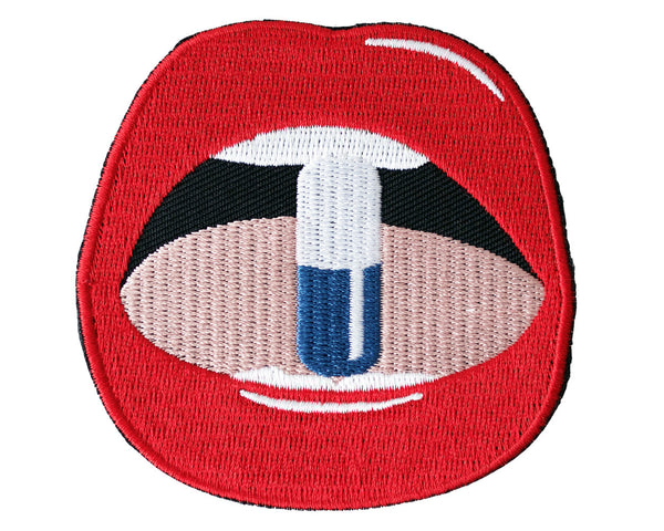 Jade Lips Patch