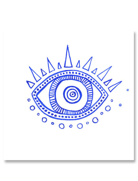 Evil Eye III Mini Art Print