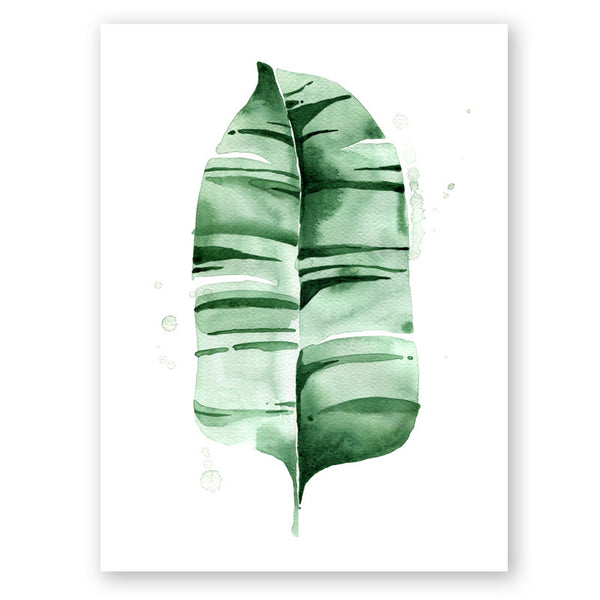 Banana Leaf no.7 Print
