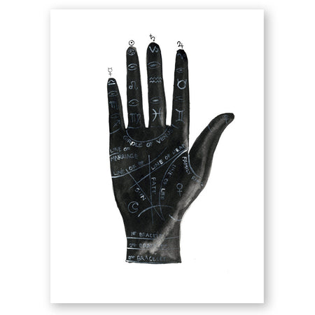 Scorpio Zodiac Constellation Print