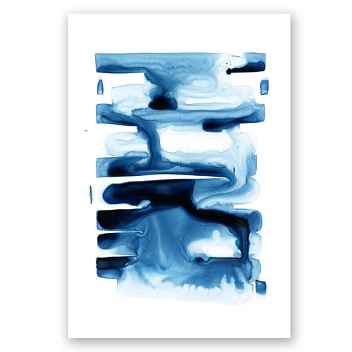 Abstract Indigo no.1 Print