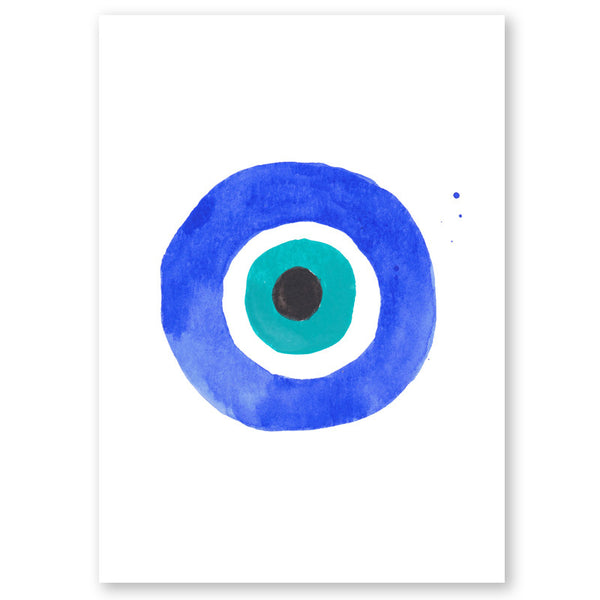 Evil Eye I Mini Art Print
