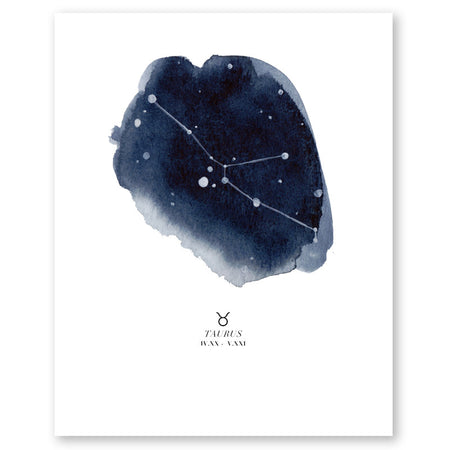 Gemini Zodiac Constellation Print