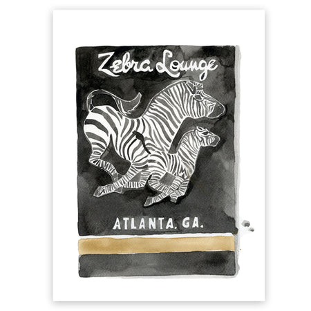 Osaka Tiger Matchbook Limited Edition Print