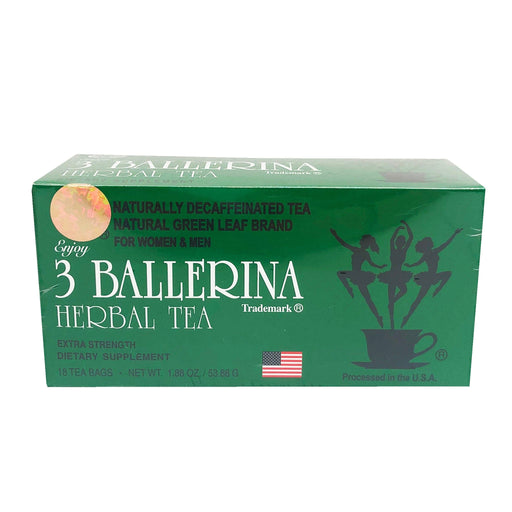 3 Ballerina Herbal Tea 1.88oz Front