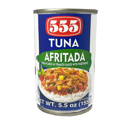 Package 555 Tuna Flakes Afritada 5.5oz Front