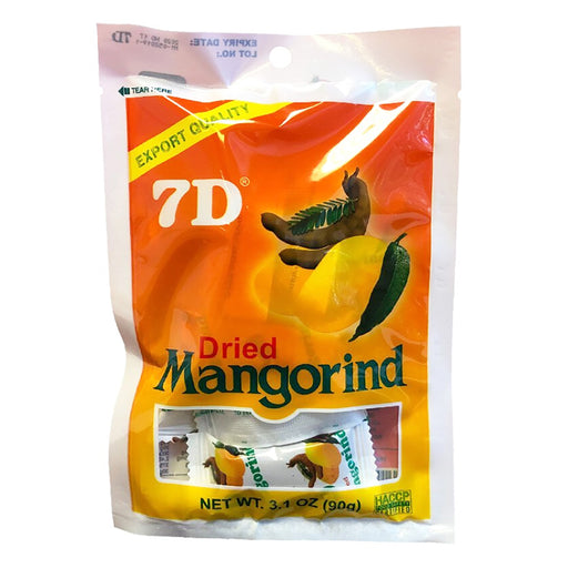 7D Dried Mangorind 3.1oz Front